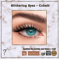 Tville - Glittering Eyes (Cobalt)  - NOW AVAILABLE IN OUR STORE!