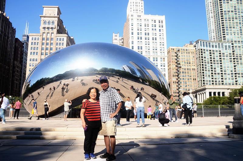 The Bean (Cloud Gate) in Chicago Millennium Park (2)