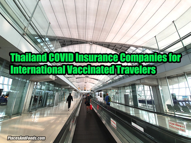 Thailand COVID Insurance Companies for International Vaccinated Travelers