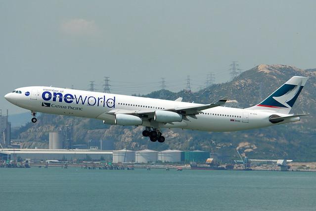 Cathay Pacific Airways 國泰航空 Airbus A340-313X B-HXG
