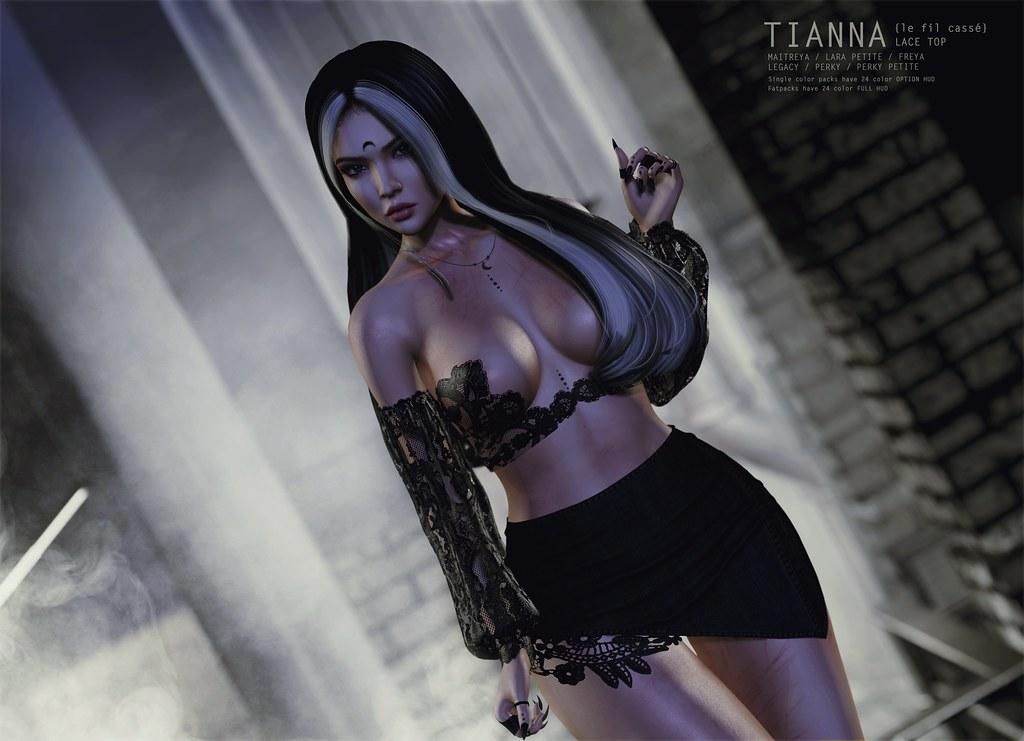 {le fil cassé} Tianna Top for Collabor88