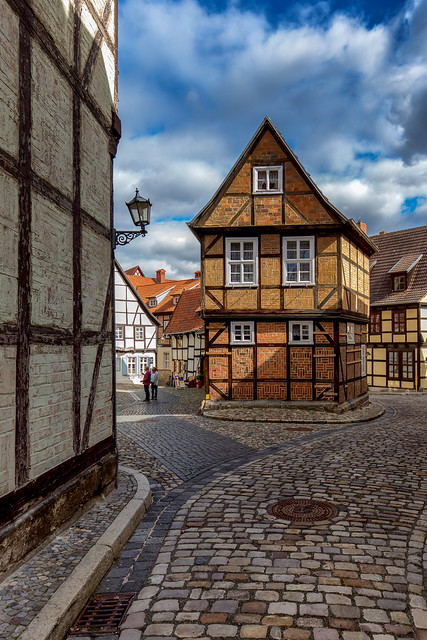 Half-Timbered house in Quedlinburg / Germany