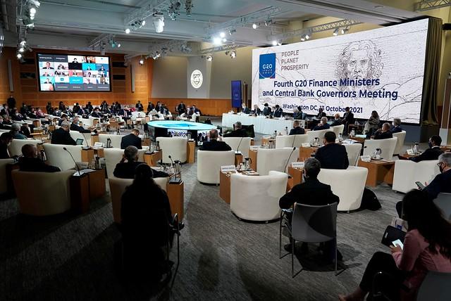Riunione Ministri e Governatori del G20