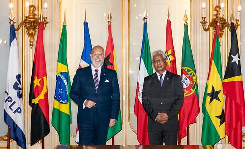 21.10. Secretário Executivo recebe Embaixador do Uruguai em Portugal