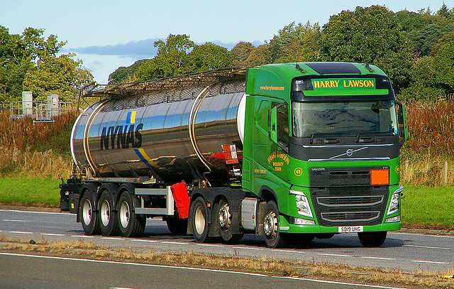 VOLVO FH - HARRY LAWSON Broughty Ferry
