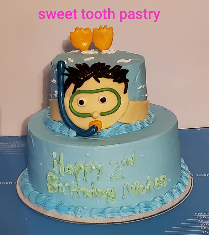 Cake by Sweet Tooth Pastry
