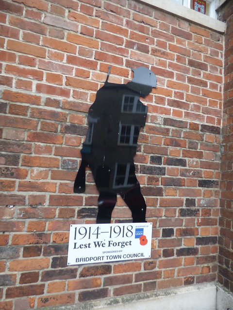 1914-1918 Lest We Forget sponsored by Bridport Town Council - Bridport Town Hall