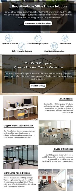Affordable Office Privacy Solutions