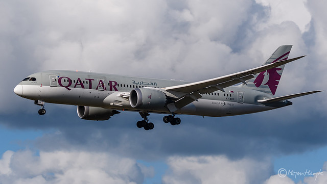 Qatar Airways, Boeing 787-8 Dreamliner, A7-BCF, 38324, October 13, 2021