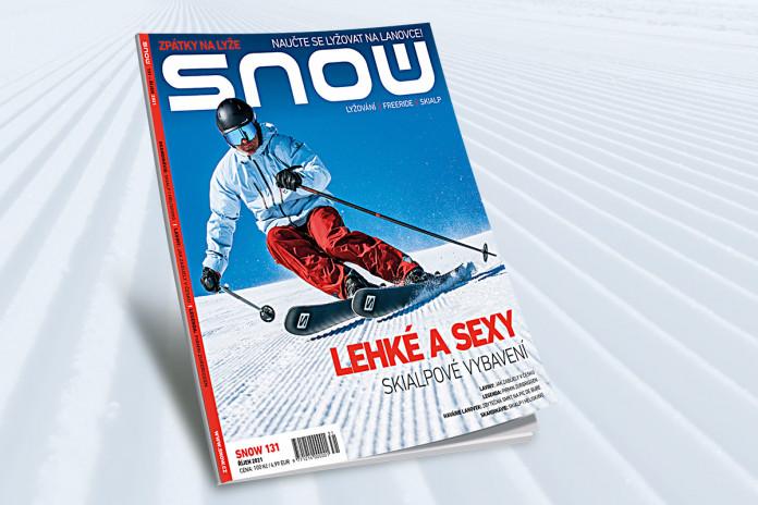 SNOW 131 (říjen 2021): zpátky na lyže!
