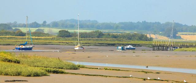 River Colne North Essex Estuary..