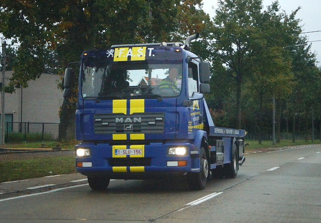 MAN TGM C Euro4 15.240 4x2 BL (2006) - M-Assistance Takeldienst & Transport Sint-Truiden, Provincie Limburg, Vlaanderen Gewest, België