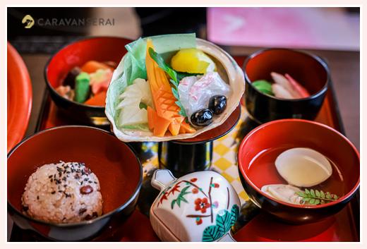 木曽路のお食い初め料理(膳) 名古屋市