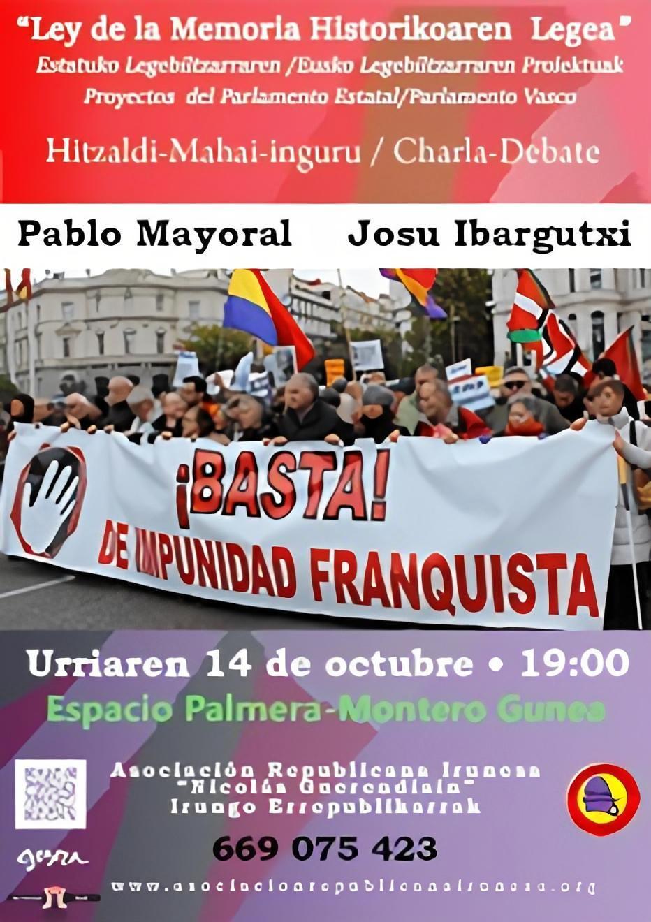 charla Ley Memoria Histórica