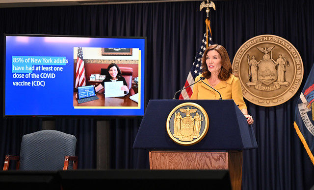 Governor Hochul Reminds New Yorkers to Get Vaccinated as Flu Season Begins