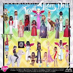 Garbaggio Tarot Glam Dolls