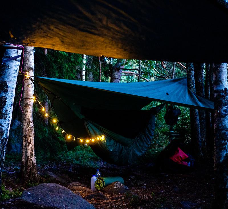 Lisejärven kansallispuisto teltta-alue