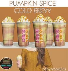 Junk Food - Pumpkin Spice Cold Brew
