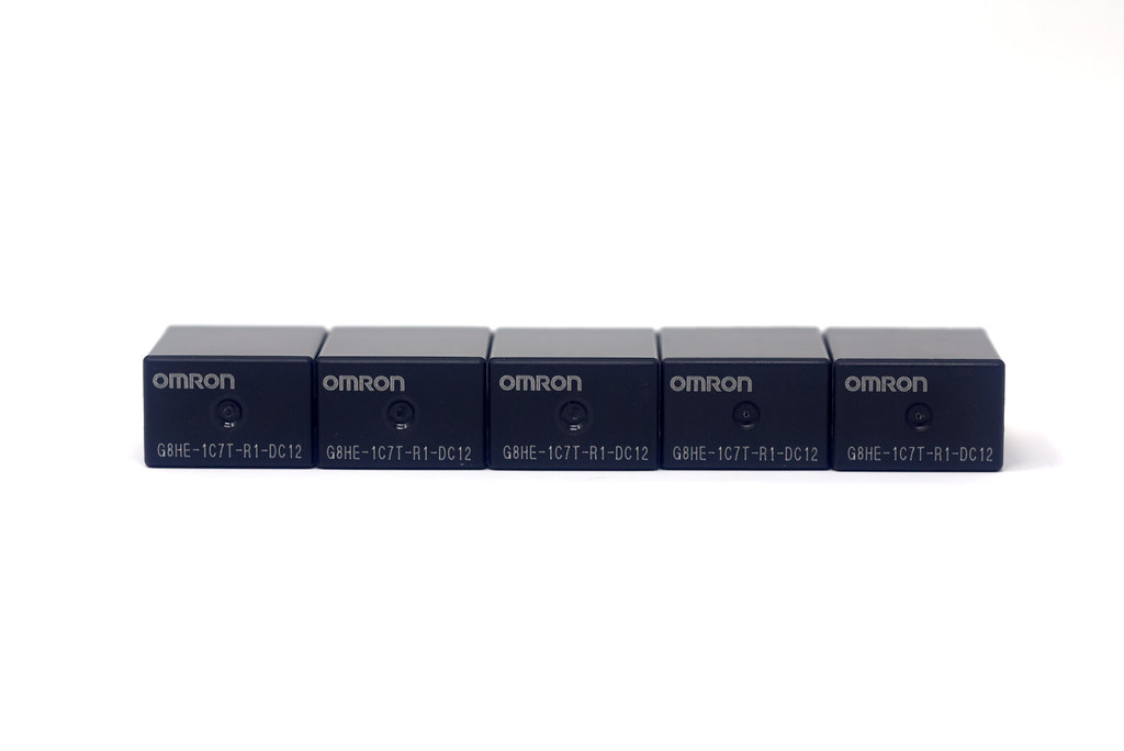OMRON G8HE 1CT7T R1 DC12 top
