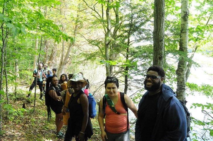 Hiking Hiawatha National Forest