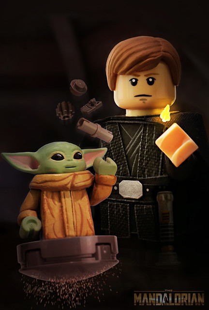 LEGO Star Wars : The Mandalorian S2 - Training Grogu