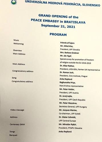 Slovakia-2021-09-21-UPF-Slovakia Opens New Peace Embassy