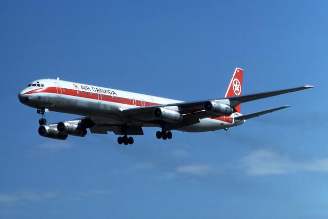 Air Canada McDonnell Douglas DC-8-63  C-FTIN