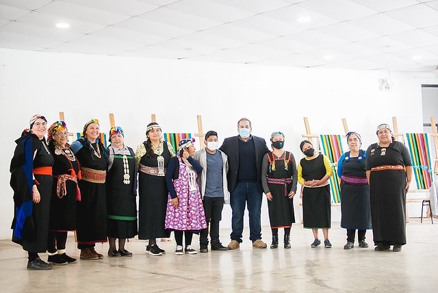 Agrupaciones mapuches de Coltauco y otras regiones ensayan gran telar que ir� al �Record Guinness 2022�