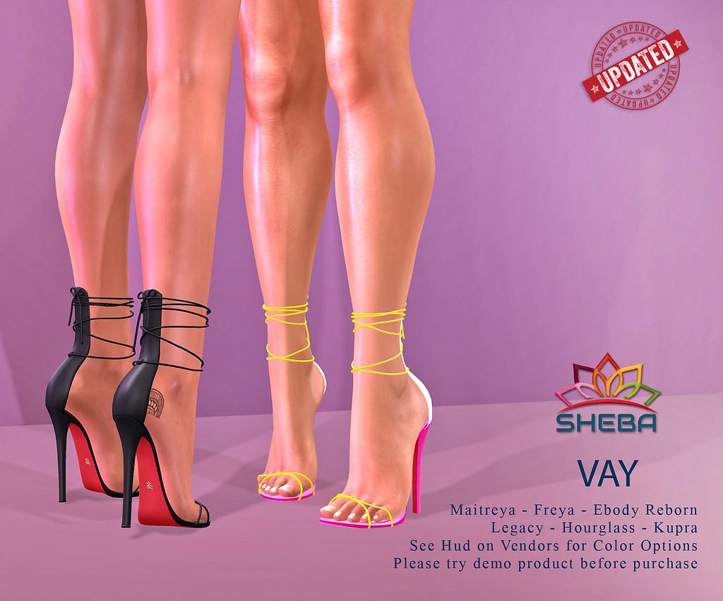 [Sheba] Vay Heels / UPDATED