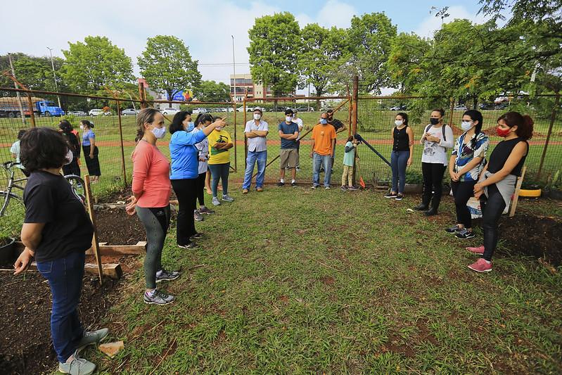 Caps II de Taguatinga celebra Dia Mundial da Saúde Mental com atividade ecológica (13.10.2021)