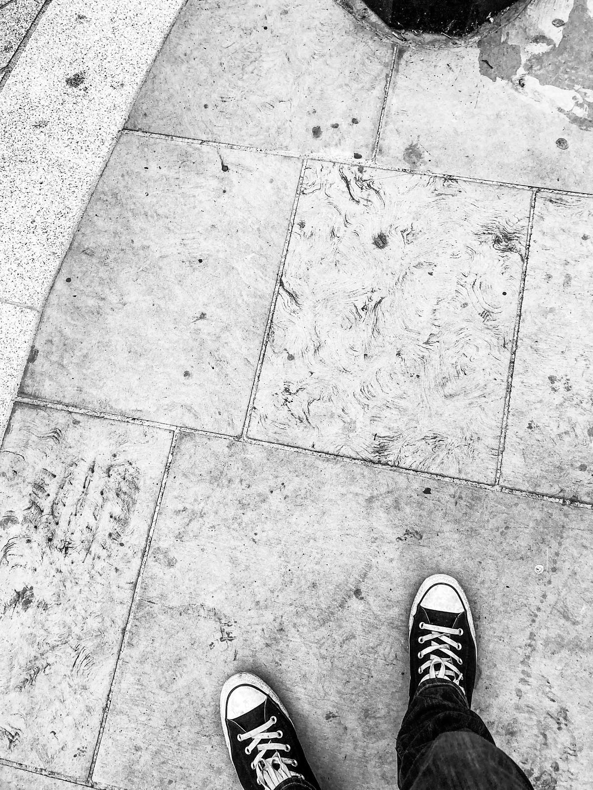 Walking to Paddington