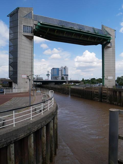 Hull - tidal surge barrier