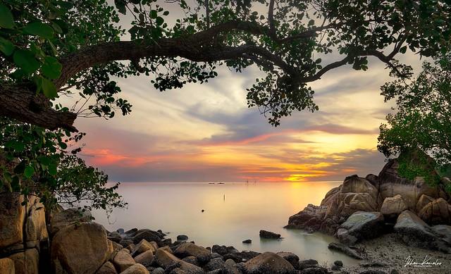 Sunset Batu Pahat Johor