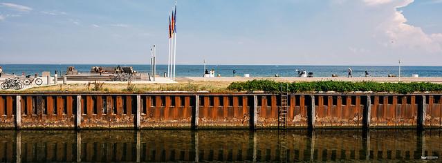 Mole mit Ostsee