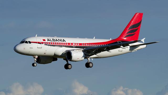 Albanian A319CJ.