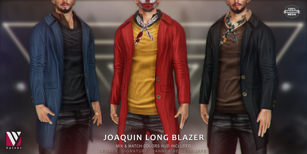 Volver - Joaquin Long Blazer