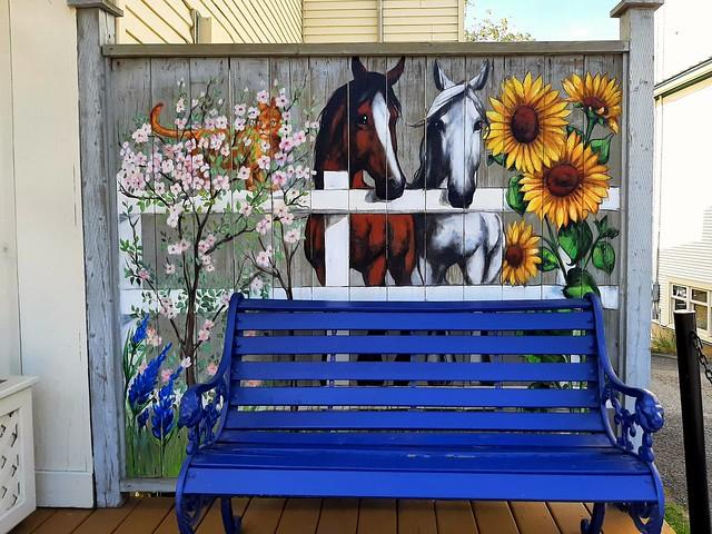 pretty mural