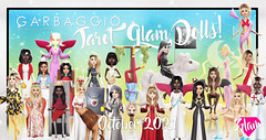 October 2021 Tarot Glam Dolls!