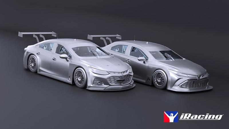 iRacing Brazil Stock Car Pro Series Cars