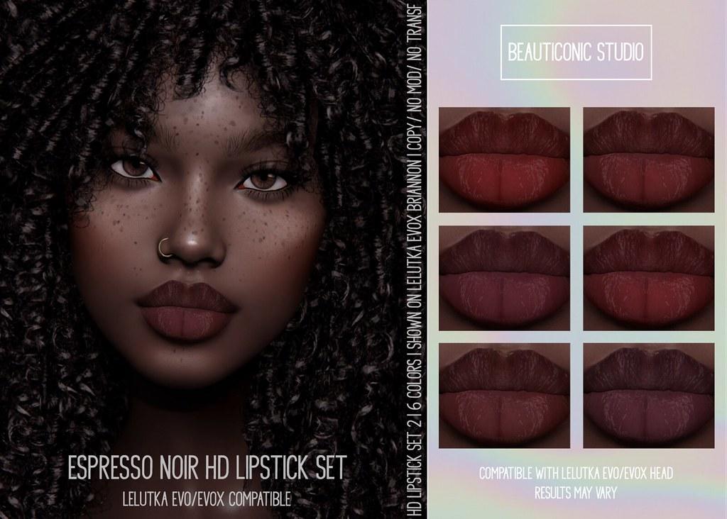 [BS] ESPRESSO HD LIPSTICK SET 2 [LEL EVO/EVOX]
