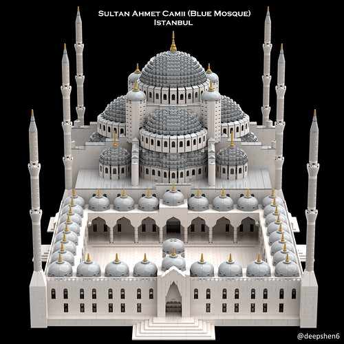 Sultan Ahmet Camii (Blue Mosque), Istanbul