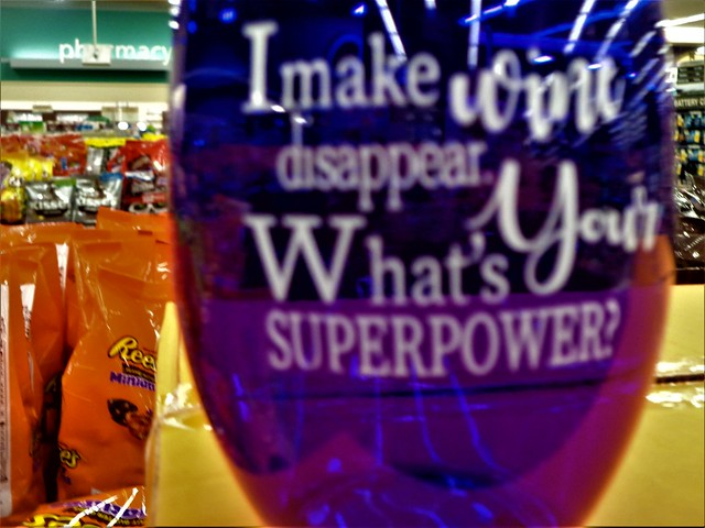 WHATS YOUR SUPER-POWER??  HWW