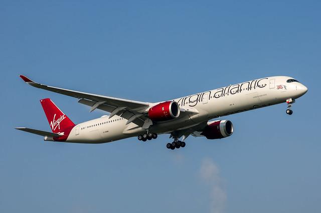 G-VRNB Airbus A350-1041 Virgin Atlantic