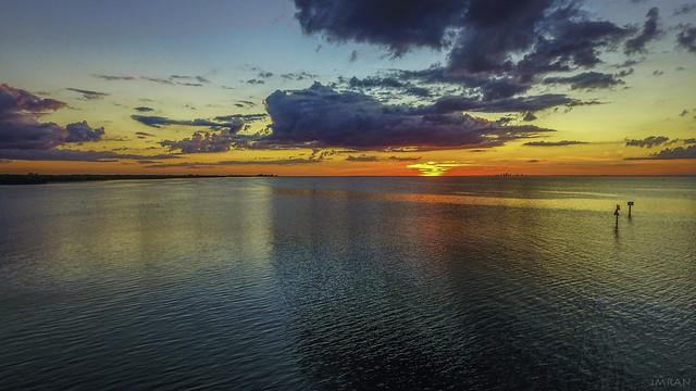 Wonderful Wednesday Stunning Sunset Delightful Drone Florida Flight - IMRAN™