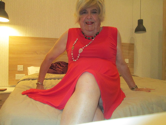The red dress again !