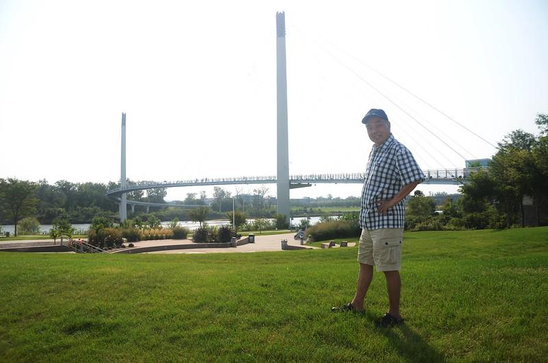 Bob Kerrey Pedestrian Bridge Omaha, NE (18)
