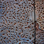 26436: bronze, wood, and rivets