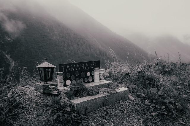 Wo Tamara starb --- Where Tamara died