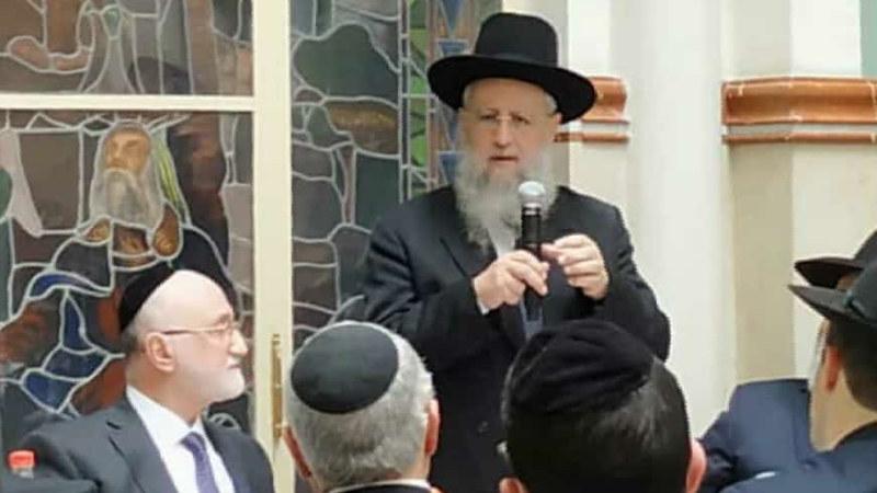 El Rab David Iosef visito Yesod Hadat