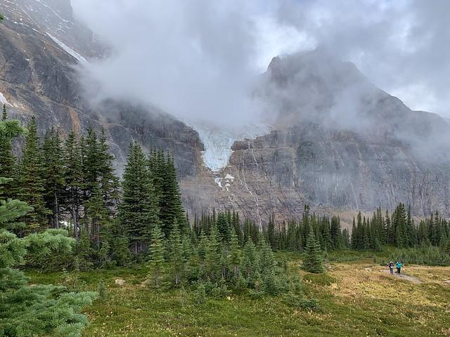 Shrouded Glacier by Jim